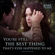 Beautiful Creatures Movie Still - In Australian cinemas now! Beautiful Creatures Quotes, Movie Quotes, Book Quotes, Good Books, My Books, Kami Garcia, Romance Movies, Fantasy Movies, Book Fandoms