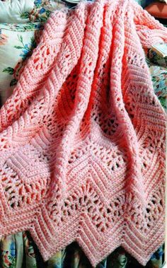Crochet Afghans 70496 Learn to Crochet Ripple Afghans Crochet Afghans, Crochet Ripple Afghan, Knit Crochet, Crotchet, Crocheted Baby Blankets, Granny Stripe Crochet, Chevron Afghan, Baby Girl Crochet Blanket, Chevron Baby Blankets