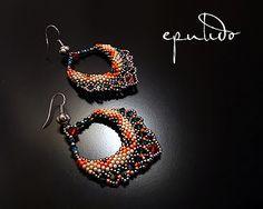 Pendientes Sari naranjas by epulido (abalorium2.0), via Flickr