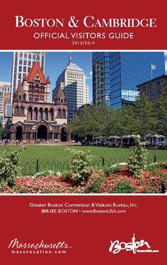 2013 2014 Official Visitors Guidebook to Boston & Cambridge