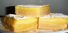 Lemon ( or Lime) Bars- Delicious and amazing 1 doz.. $17.00, via Etsy.