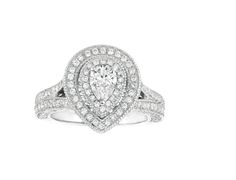 Shop Sam's Club for big savings on Instant Savings Book Engagement Ring Stores, Engagement Jewelry, Diamond Engagement Rings, White Gold Rings, White Gold Diamonds, Colored Diamonds, Pear Shaped Diamond, Round Cut Diamond, Dress Rings