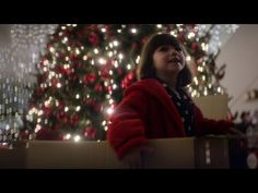 Debenhams 'Find your fabulous Christmas'. Features children exploring a closed Debenhams before finding the perfect gift.