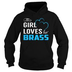 This Girl Loves Her BRASS - Last Name, Surname T-Shirt