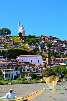 Janitzio, Michoacán. México. Una isla muy hermosa y llena de tradiciones.