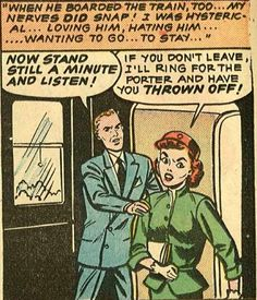 The art, the lettering, the dialogue - it just doesn't get better than this! Comics Love, Comics Girls, Vintage Pop Art, Retro Vintage, Pop Art Girl, Comic Book Panels, Retro Pop, Comic Pictures, Computer Art