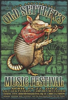 Old Settler's Music Festival, mid-April, held at the Salt Lick BBQ Pavilion and Camp Ben McCulloch. We have been a part of this festival running audio for over 7 years! #oldsettlers #texas