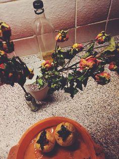 Печеные яблоки с курагой, черносливом, корицей и медом baked apples with dried apricots, prunes, cinnamon and honey my kitchen dry roses