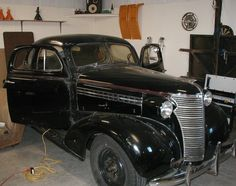 my 1938 chevy coupe