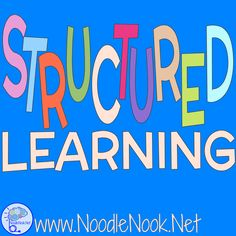 Teaching in a structured classroom, self- contained, or Autism Unit? Here are tips and tricks you need to succeed from NoodleNook.Net!