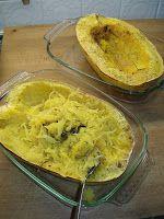 Els Kookt: Spaghettipompoen met gerookte zalm en Parmezaanse ...