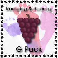 Free Romping & Roaring G Pack - 3Dinosaurs.com
