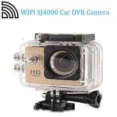 WiFi SJ4000 HD 1.5 Inch Car DVR Camera Sport DV Novatek Waterproof Dvr Camera, Hd 1080p, Quad Copters, Wifi, Drones, Car, Sports, Hs Sports, Automobile