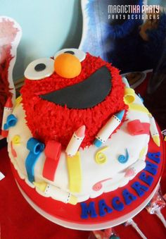 "Photo 1 of 77: Sesame Street / Birthday ""Macarena Street"" 