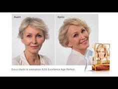 shampoings colorants l'Oreal anti age