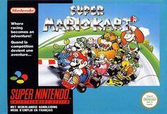Super Mario kart de 1992 # super nes # super Nintendo