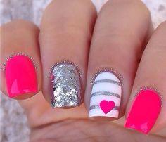@Badgirlnails super fun for summer nails