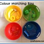 Colour Matching Bins