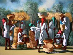 peinture haitienne art naif - Recherche Google