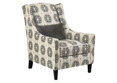 Lily Linen Accent Chair