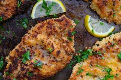 Ina Garten's Chicken Piccata recipe is on Shutterbean.com. A perfect weeknight meal.