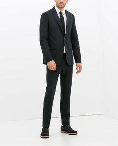 Image 1 of BASIC NAVY SUIT from Zara