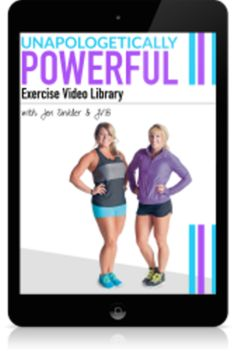 The Unapologetically Powerful program reviews & PDF download. I saw strength gains and felt much more comfortable and confident with my lifts doing just three workouts a week, (which fit beautifully with my busy schedule)! But by far the best part of the program for me was the introduction to biofeedback testing, which has been a life-changer for me. It made me listen to what my body was telling me. It allowed me the freedom to choose the best ex