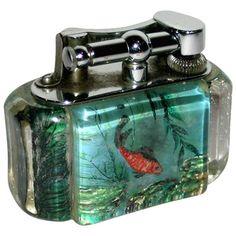 1stdibs   Rare Dunhill Aquarium Lighter