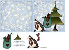 Tarjetas navide�as.....con gatitos
