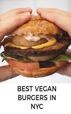 Best vegan burgers in New York!