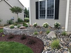 41 Perfect Bed Garden Design for Your Front Yard There are a few front garden ideas that are universally helpful. It's possible to also think of utilizing other decorative […] Front House Landscaping, Landscaping With Rocks, Outdoor Landscaping, Outdoor Gardens, Landscaping Ideas, Landscaping Plants, Modern Landscaping, Hydrangea Landscaping, Landscaping Edging