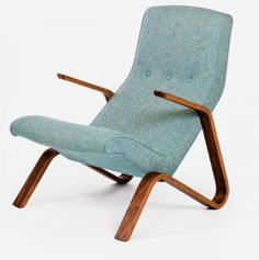 The Grasshopper chair (1946):  The Grasshopper chair is based on Eero Saarinen's chair of the same name, designed for Knoll in 1946. The Grasshopper is the first chair Saarinen designed in a series of sculptural chairs created for Knoll throughout the 1940s and 1950s. Knoll manufactured the chair and ottoman for nineteen-years, and ended its production in 1965.