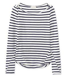 #ShopBAZAAR Trending Now: Line Up - A.L.C.  Breton Stripe Top