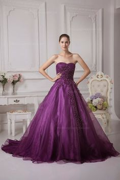 Amazing purple color wedding dress fashion and style inspiration | Fashion and styles