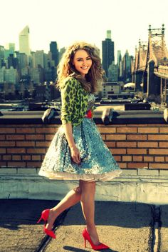 Carrie Diaries-I LOVE THIS SHOW! I aslo love her outfits. I dont know if i could look good in half of it, but i love it all on her. It just works!