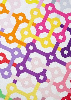 = free pattern = Tangled Quilt by Red Pepper Quilts