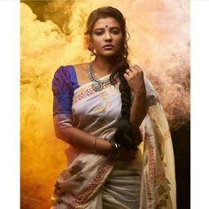 Indian Bridal Sarees, Tamil Actress Photos, South Indian Actress, Beautiful Saree, India Beauty, Indian Wear, Indian Outfits, Indian Actresses, Cool Girl