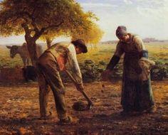millet les planteurs de pommes de terre