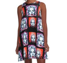A-Line Dress #iconic #dancer #singer #actress #marilyn #famous #president #sexy #happybirthday