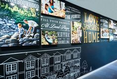 Maplewood Place by Anthem Properties Vancouver, Experience Center, Sales Office, Showroom Design, Environmental Graphics, Display Design, Branding, Kayaking, Signage