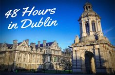 With so much history, 48 hours in Dublin may not seem enough time to explore! Check out our recommended itinerary to capture the inherent beauty in Dublin.