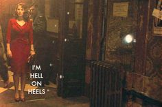 Peggy Carter with lyrics from Hell on Heels by The Pistol Annies