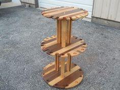 Fishing pole holder, rotates, holds 24 poles | Fishing | Pinterest ...