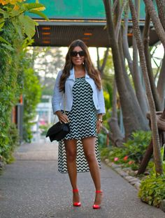 Black and White for summer #fashion #style