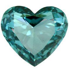 #Aquamarine #heart #Jewelry