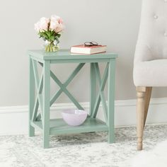 Candence Cross Back End Table AMH6523E