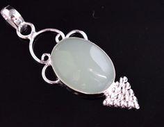 Daily Wear Onyx 925 Silver Plated Single Stone Pendant For Teens Jewellery E54 #valueforbucks #Pendant