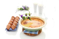 Pastel de arroz con Thermomix® The Breakfast Club, Sweet Recipes, A Food, Panna Cotta, Cheesecake, Tableware, Ethnic Recipes, Desserts, Flan