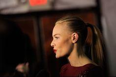 20 maneras de hacer la coleta: Kate Bosworth