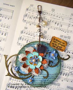 ** Make Altered Art Using A Recycled CD @pinkleart